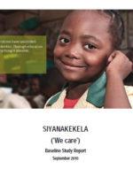 Siyanakekela Baseline Study Report, September 2010