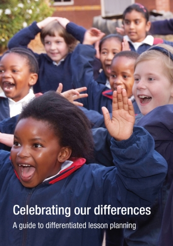 Celebrating our differences: A guide to differentiated lesson planning