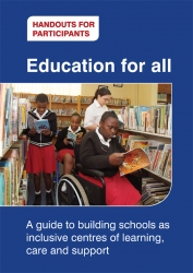 Visit our publications section for more information on how to implement Inclusive Education into South African Schools