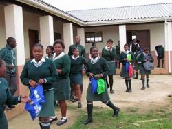 Learners praise RHIVA and HIV testing