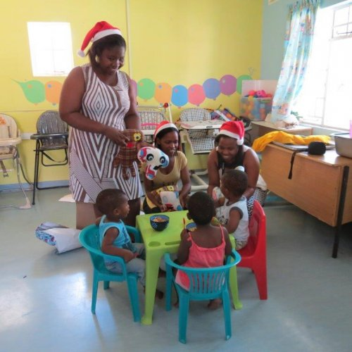 Bringing cheer and joy: MIET AFRICA staff visit the Edith Benson Babies Home
