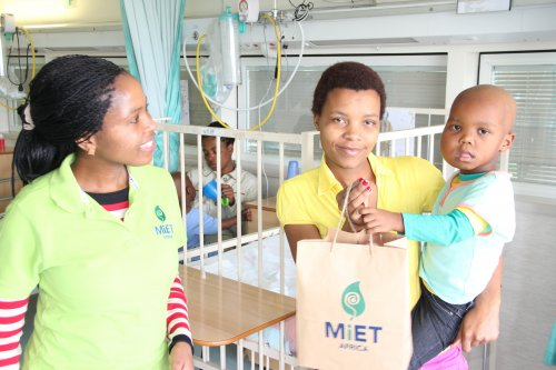 Mandela Day at MIET AFRICA