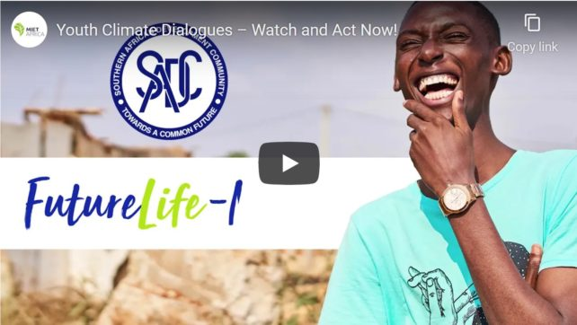 Youth Climate Dialogues – Watch and Act Now!