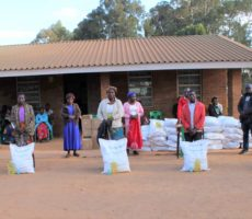 Distribution of Food Parcels – Responding to the COVID-19 Crisis