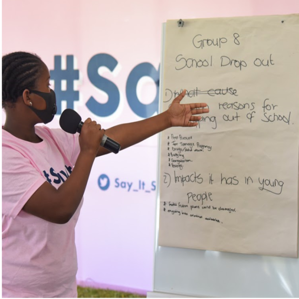 Acknowledge, Access, Stay Alive – The #SAYIT Launch