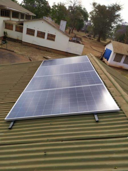 Green Power: The solarsystems installed at 10 FutureLife-Now! schools in Malawi provide the necessary energy to run e-platforms
