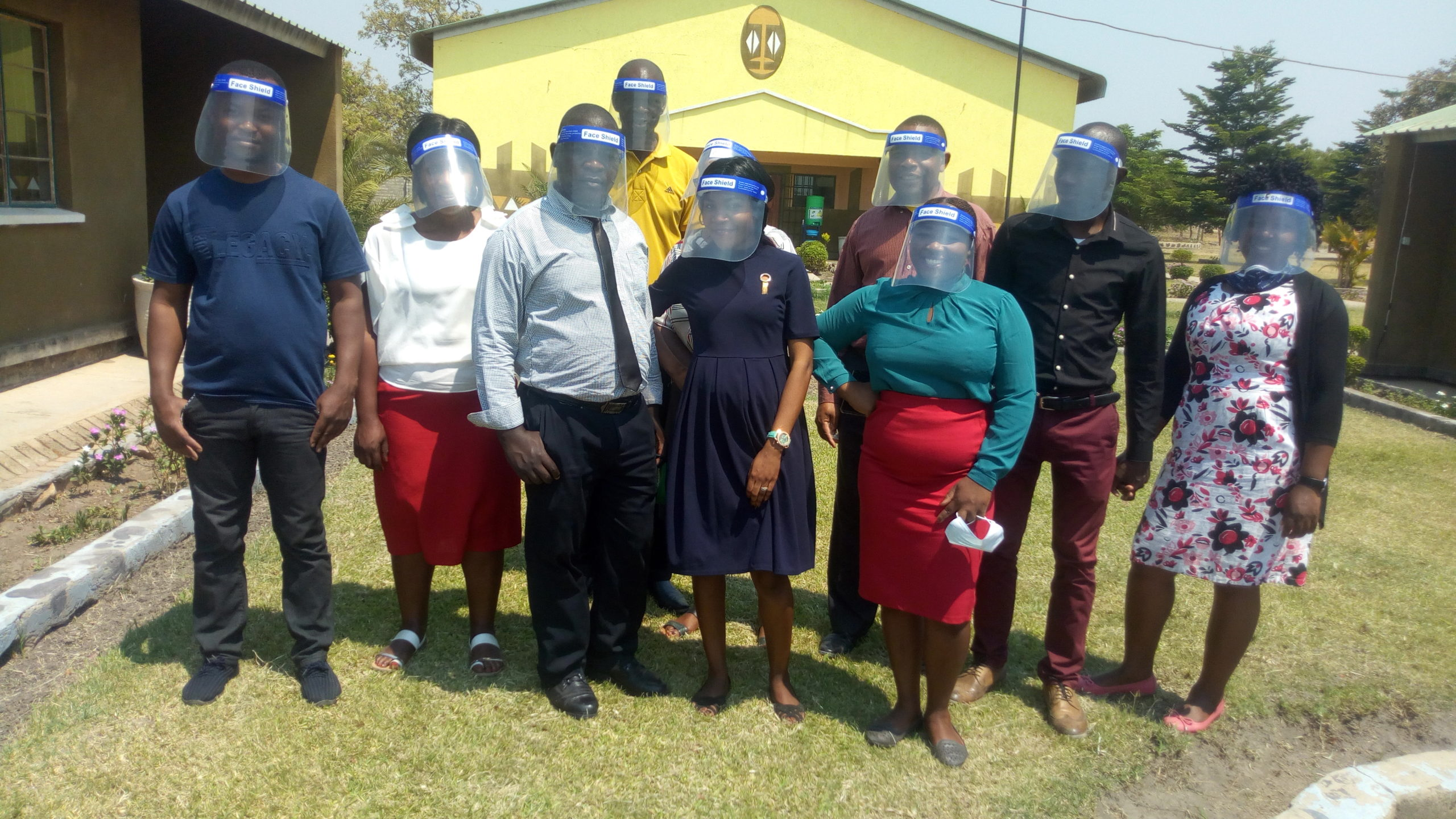 The provision of face shields meant that educators can talk freely to learners while maintaining safety standards
