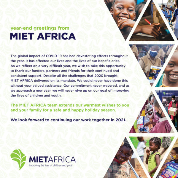 A Message from MIET AFRICA