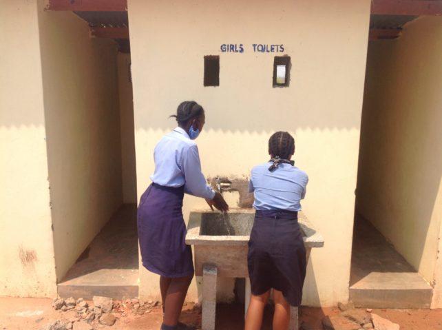 Sanitation Brings Safety to Zambian School