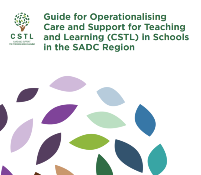 Guide for Operationalising Care and Support for Teaching and Learning in Schools in the SADC Region Out Now!
